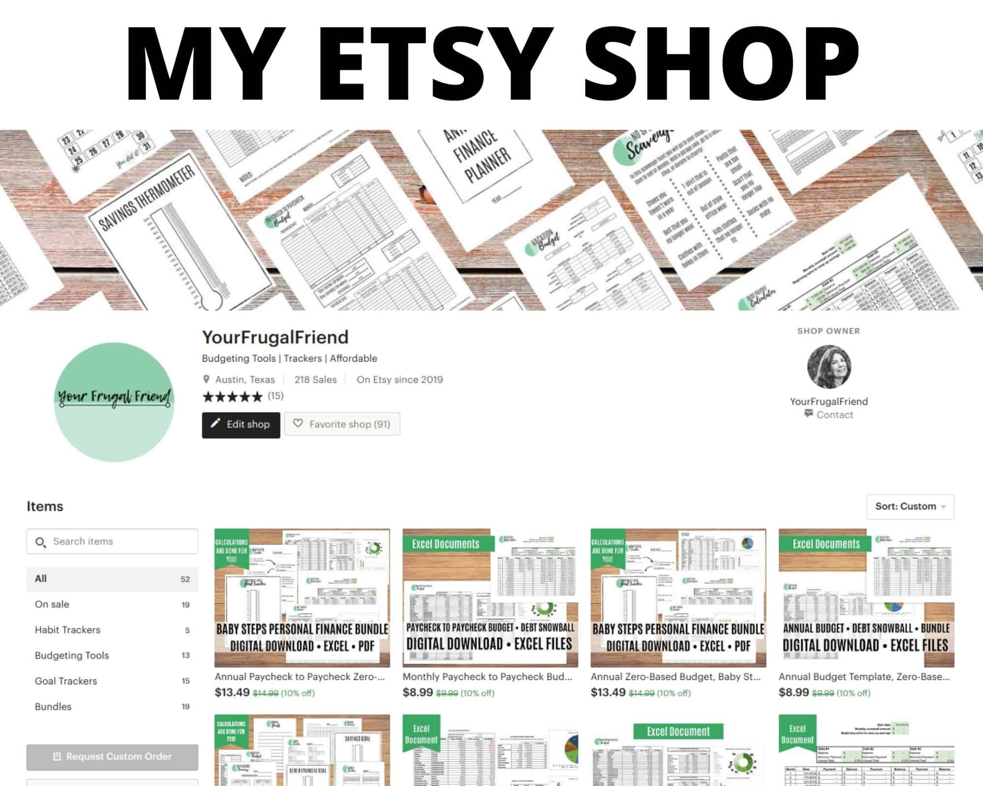 How I Started My Etsy Side Hustle