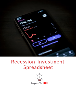 Recession Investment Spreadsheet Download