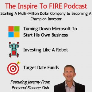 Jeremy from Personal Finance Club: Becoming A Champion Investor