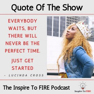 Quote Of The Show Lucinda Cross